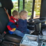 Truck Time Erin driving bus