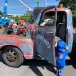 Truck Time Tow Mater with Rotary shirt